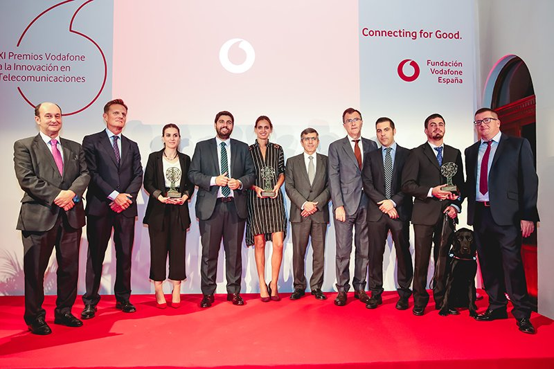 NaviLens was given the prestigious award Connecting for Good by the Vodafone Foundation
